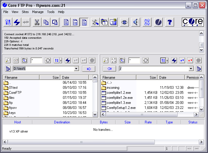 Freeware core ftp free ftp client software with ftp bulk file.